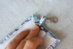 bag tutorial flap ins