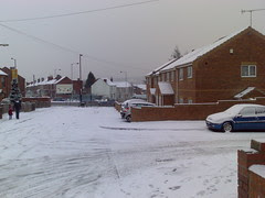 Snow on my Street