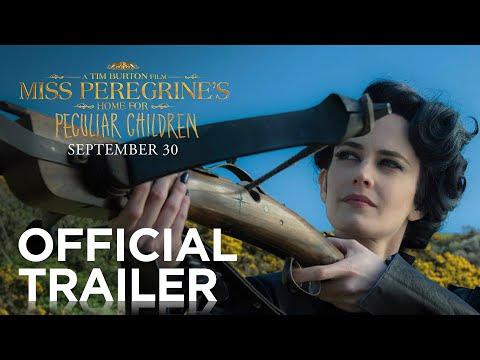 Cinema: O Lar da Senhora Peregrine para Crianças Peculiares