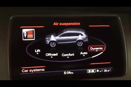 2015 Audi Q7 Air Suspension