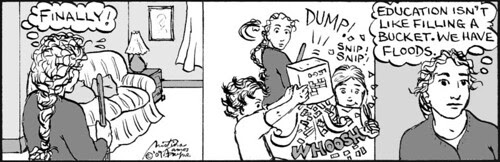 Home Spun comic strip #351