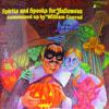 """William Conrad """"Spirits and Spooks For Hallowe'en Summoned Up by William Conrad"""" (Caedmon, TC1344, 1973)"""