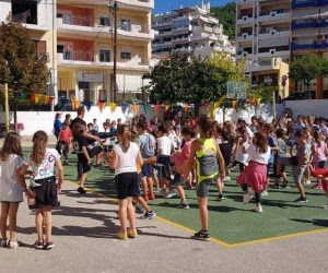 Θεσπρωτία: Το 1ο Δημοτικό Σχολείο Ηγ/τσας συμμετείχε στην 6η Πανελλήνια Ημέρα Σχολικού Αθλητισμού