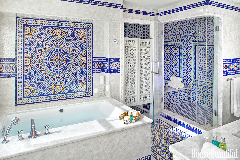 48 Bathroom Tile Design Ideas - Tile Backsplash and Floor ...