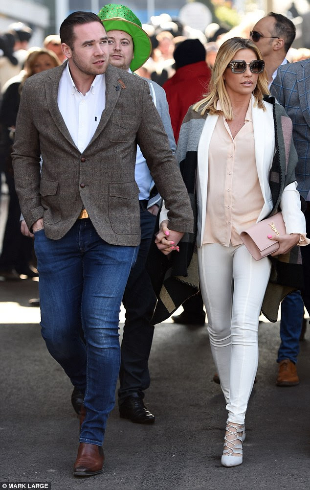 Working through it: After Kieran's past affairs and Katie's rumoured fling, a source told tHE Sun that 'they hope to put the past behind them and renew their vows soon'