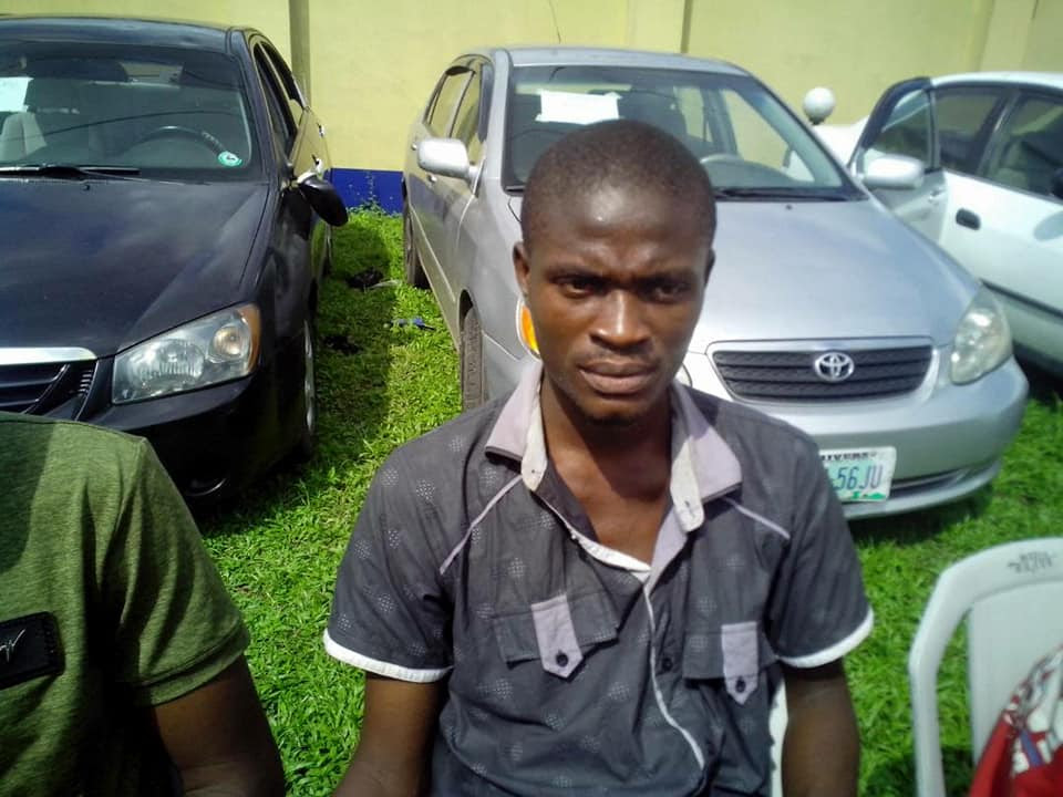 SARS Operatives Intercept Snatched Vehicle In Rivers, Weapons Recovered. Photos