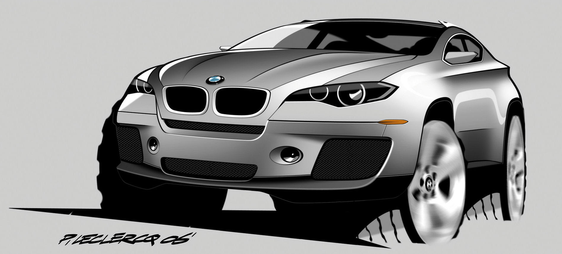coloriage de voiture bmw x6 imprimer et obtenir une. Black Bedroom Furniture Sets. Home Design Ideas