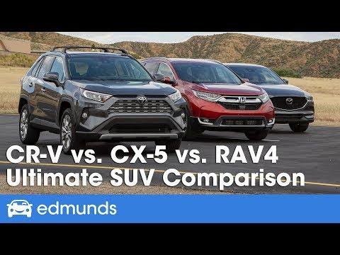 Compact Suv Size Comparison