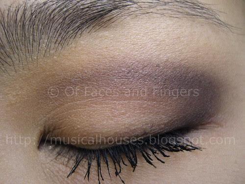 purple beige look gabrielle faust overall beauty