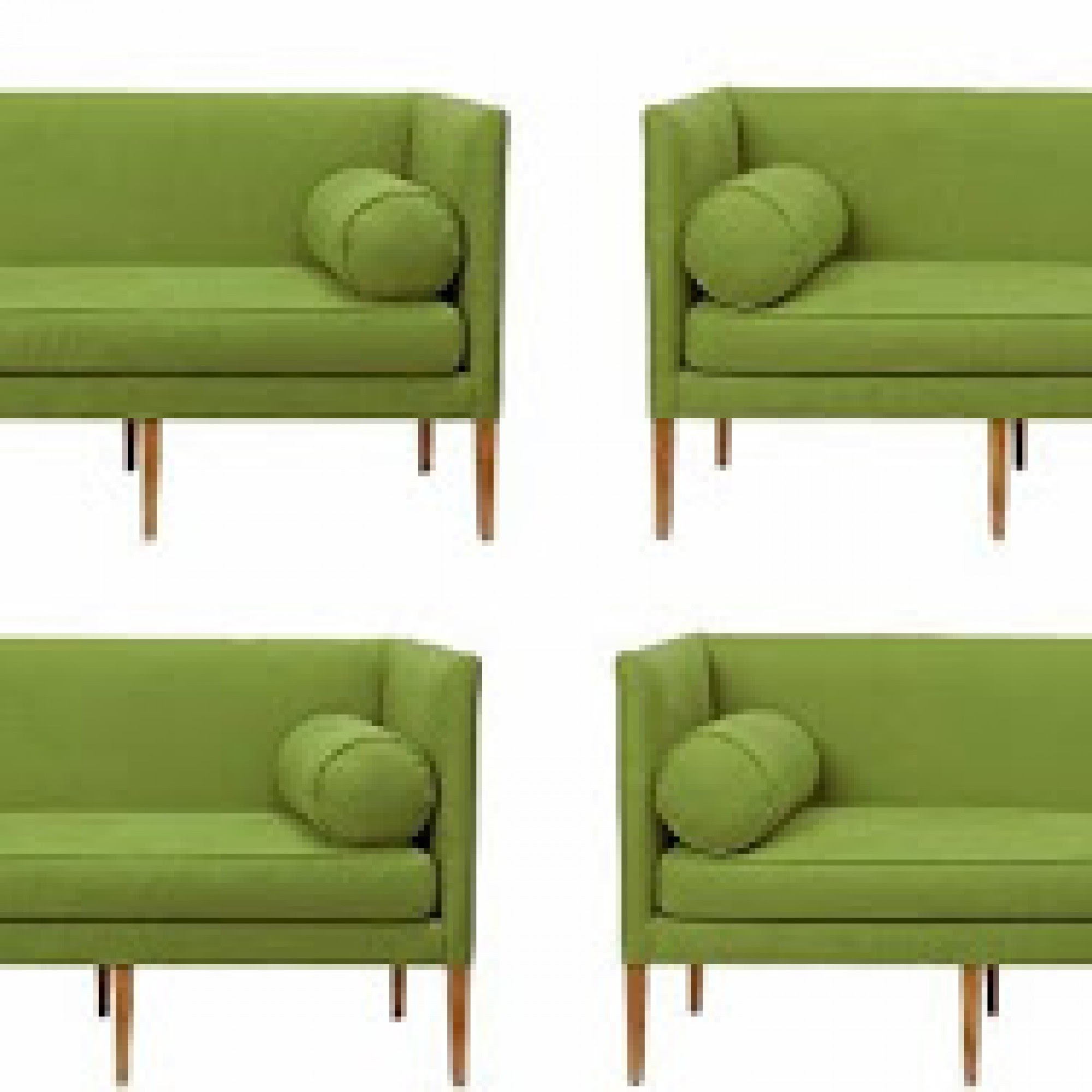 DESIGN ON SALE DAILY: BOLSTERING UP A GREEN SOFA! | COCOCOZY