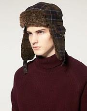 Barbour Tartan Hunter Hat