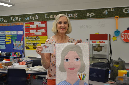 Lady #47 (Mrs. Joy) with herself