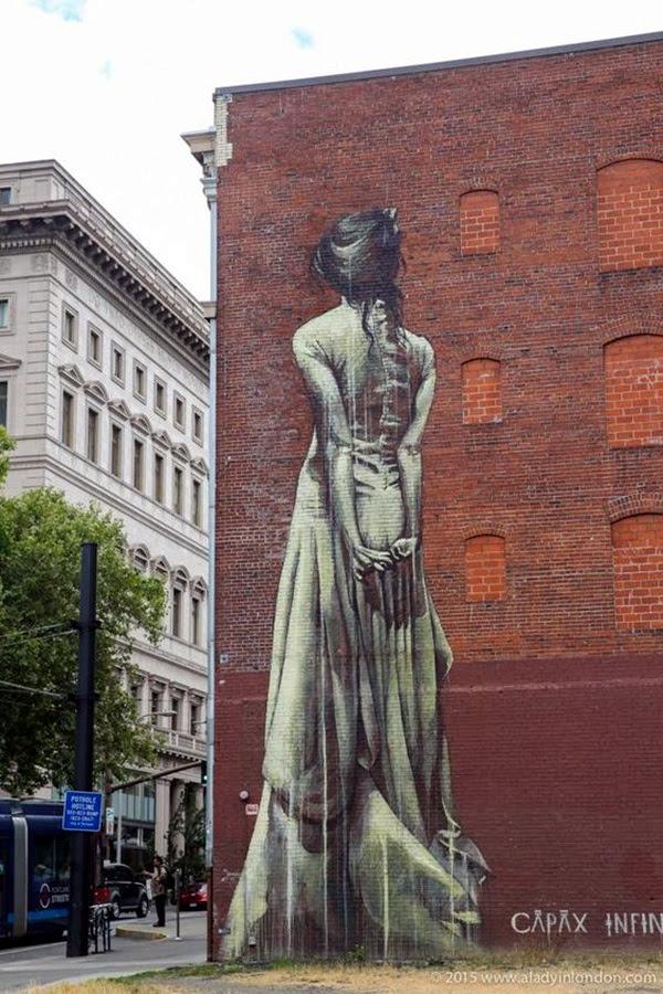 Amazing Huge Street Art on Building Walls (17)