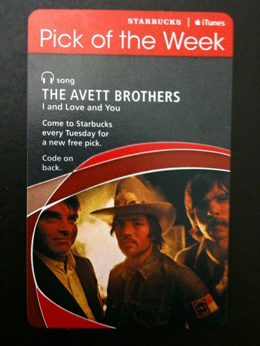 @Starbucks iTunes Pick of the Week - The Avett Brothers - I and Love and You