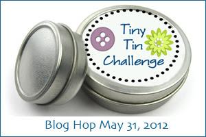 Tiny Tin Blog Hop Challenge