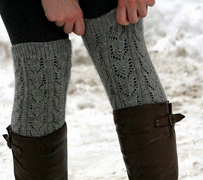 Legwarmers free pattern from CEY