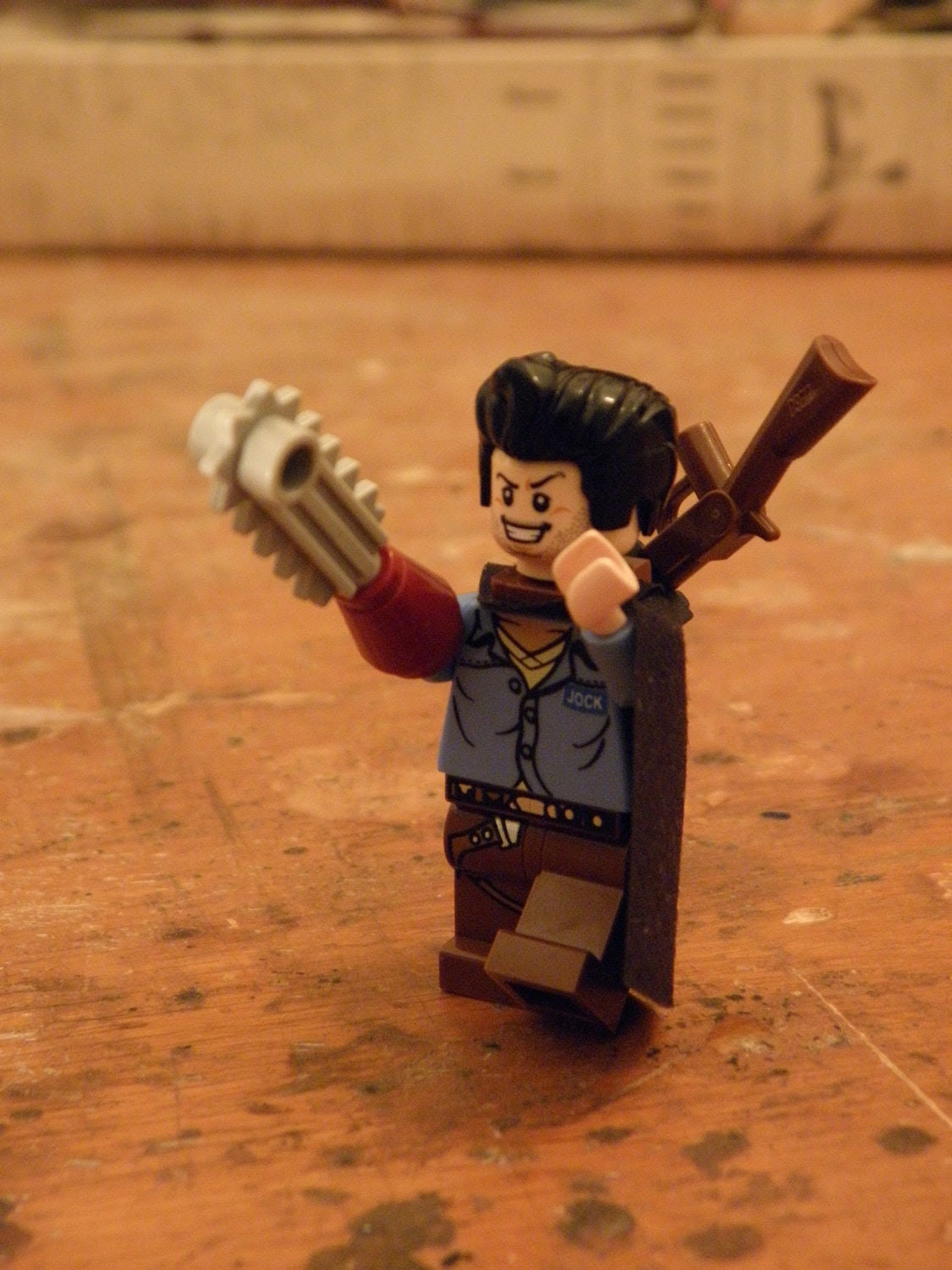"Army of Darkness ""Ash"" Lego Mini-Figure"