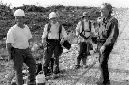 Image tirée du film L'Erreur boréale, de Richard Desjardins et Robert Monderie<br />