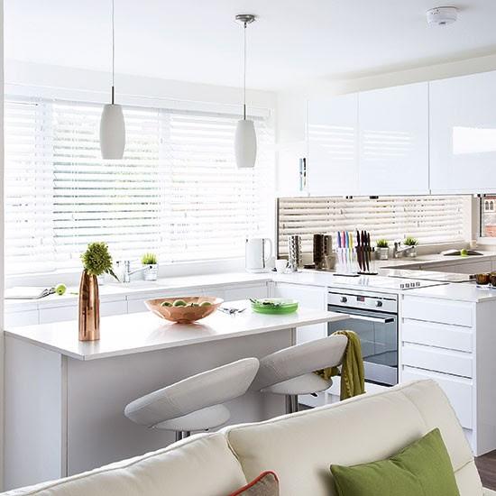 Modern white gloss kitchen | Decorating | housetohome.co.uk