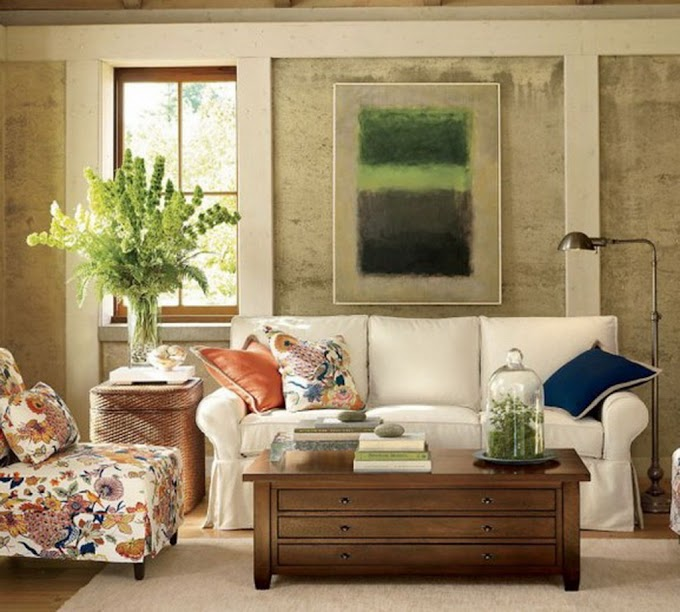 New Home Decor Ideas For Living Room Stock