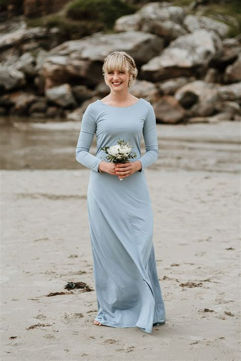 A Scandinavian Bride and her Relaxed and Fuss Free