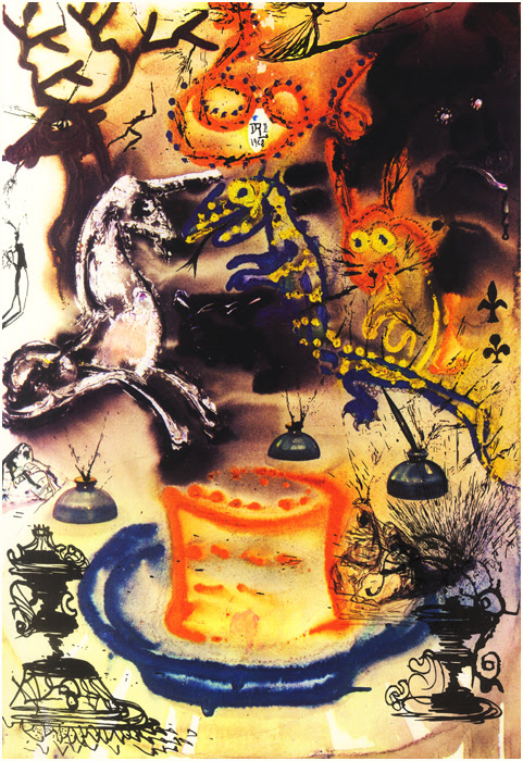 Salvador Dali Alice in Wonderland