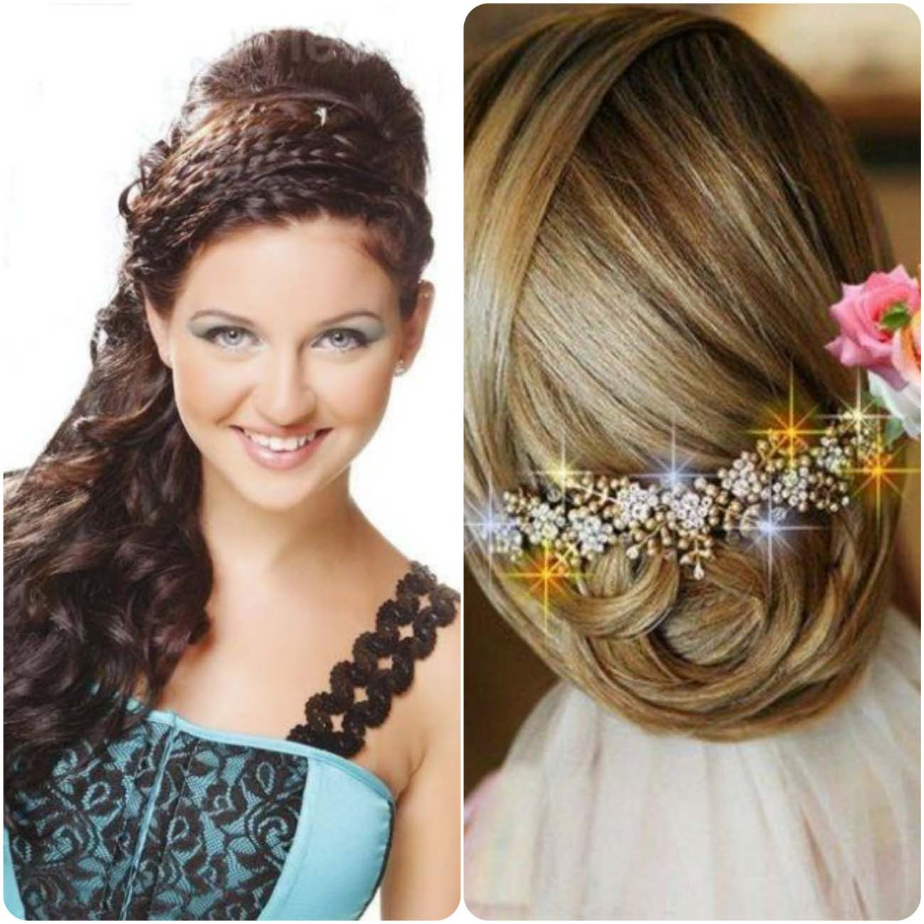 Ladies Hair Style Cut Party Hairstyles Step By Step 2016 Stylo Planet