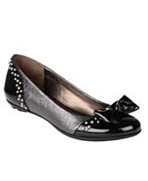 Etienne Aigner Shoes, Aubergine Flats