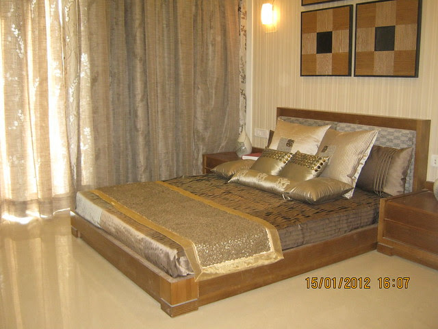 Bed Room - Show Flat of Pittie Kourtyard Kharadi Pune 411 014