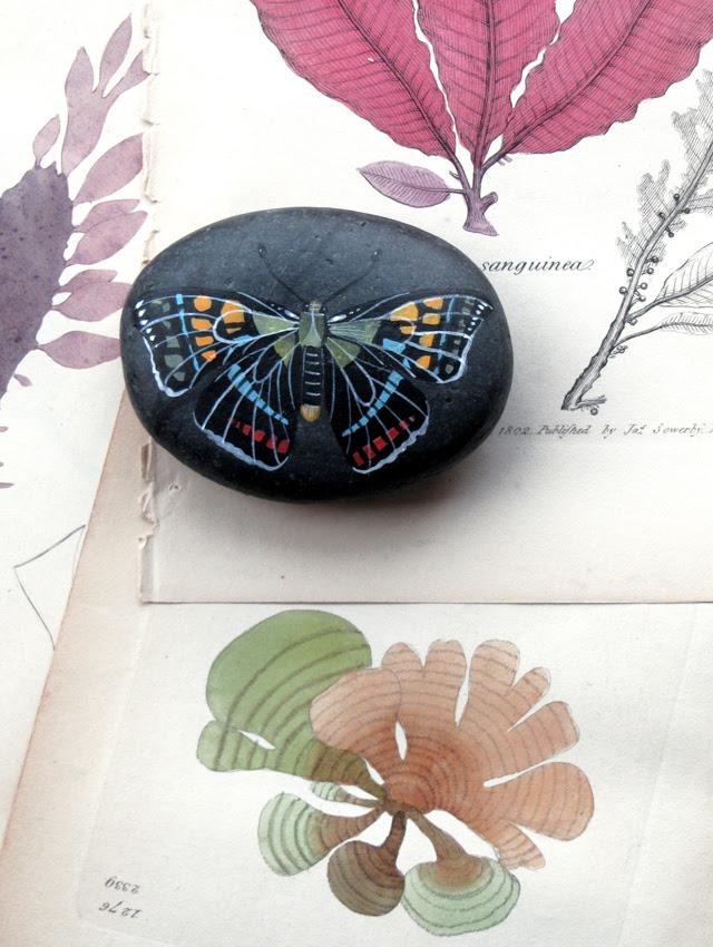 Black Butterfly Stone