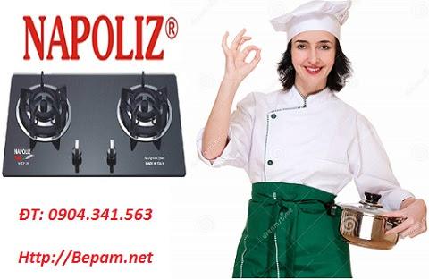 Bếp ga Napoliz người đầu bếp tin cậy cùng bạn trải nghiệm mọi điều thú vị khi nấu nướng