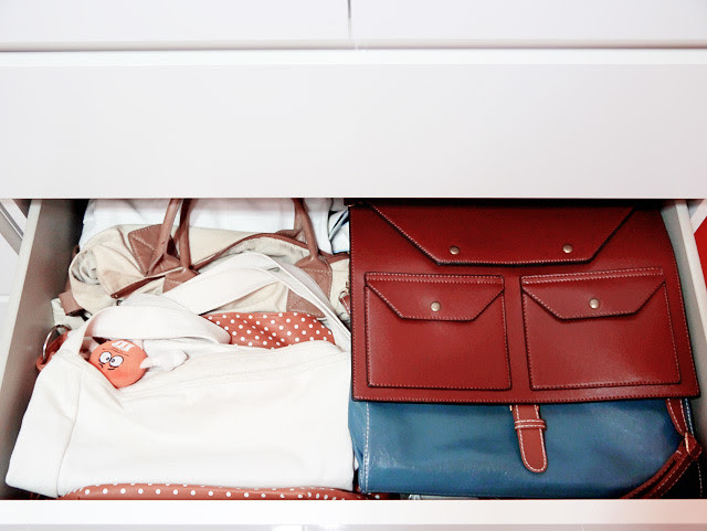 typicalben room cupboard drawer bags 1
