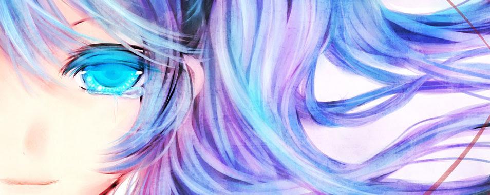 初音ミク美しい水彩塗りのミクのイラスト画像ボカロ壁紙