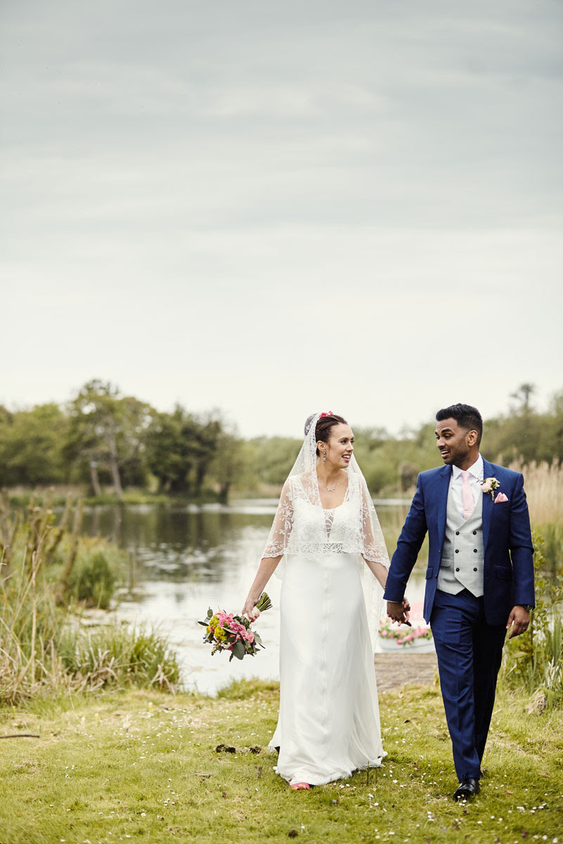 Thorpeness Meare Wedding, Bride and Groom - helloromancephotography.com