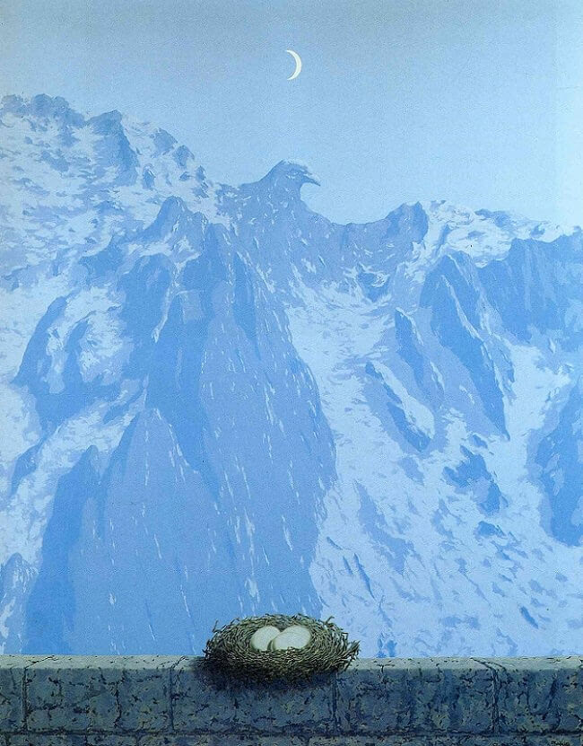 The Domain Of Arnheim 1962 by Rene Magritte