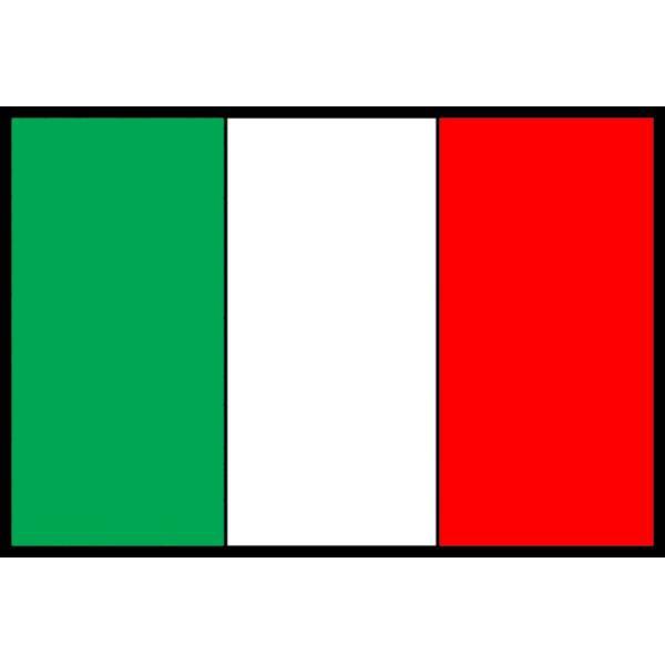 Disegno Di Bandiera Italiana A Colori Per Bambini