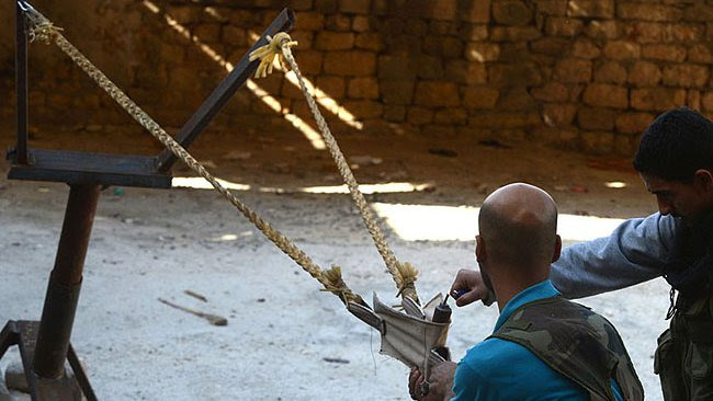Syria's DIY weapons