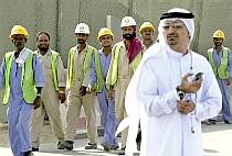 Guest workers in Dubai
