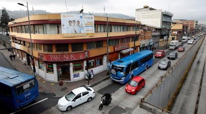 В столице Эквадора общественный транспорт приостановит работу