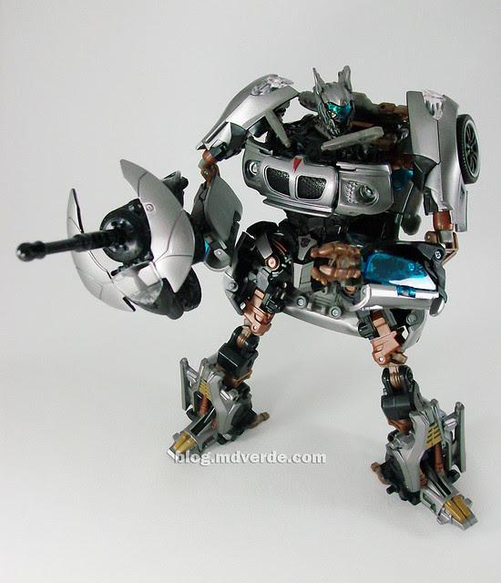 Transformers Jazz Human Alliance - modo robot