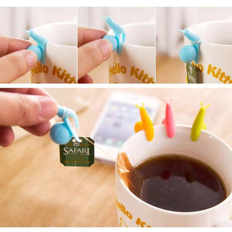 2. Улитки для крепления чайных пакетиков — 54 руб. магазины, товары