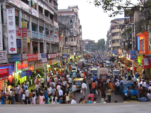India's really crowded!