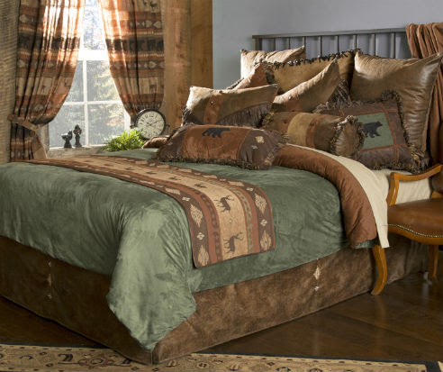 Northern Pine by Carstens Lodge Bedding ...