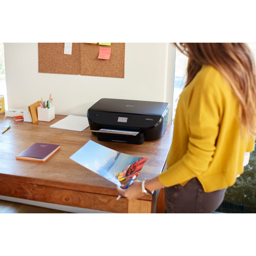 Hp Envy 5540 Inkjet Multifunction Printer Color Plain Paper