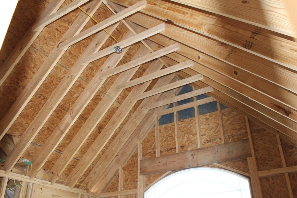 Vaulted Ceiling Rafter Design
