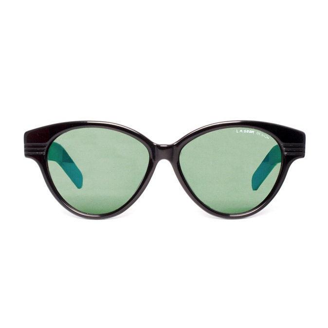 L.A. GEAR Moves 2 blue Vintage Sunglasses - MODvintageshop