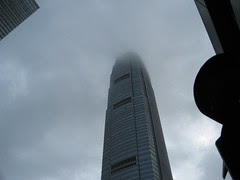 Tower in the clouds