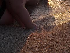 Petits pieds dans le sable