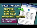 Cara Menghindari CheckPoint pada Akun Facebook