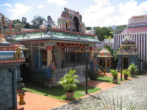 tamil temple Mauritius